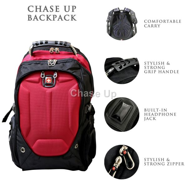 Gents Backpack 6611 TI-020 Imp (Red)
